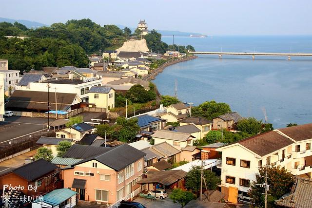 九州杵築城100