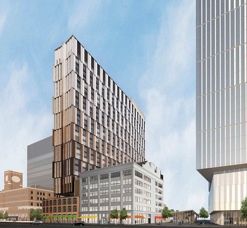 MIT Kendall Housing Tower Renderings