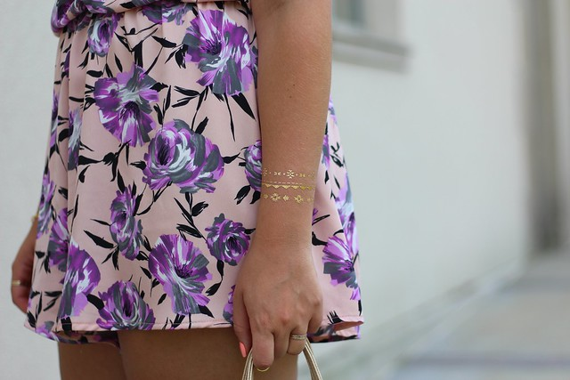 Pastel Floral Romper | Summer Outfit