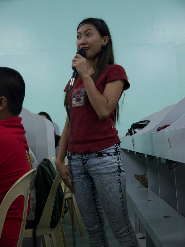 AE Workshop in The Philippines - Inspiring the students after the Typhoon