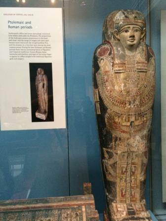 Mummy at British Museum