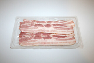 09 - Zutat Bacon / Ingredient bacon