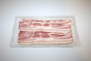 09 - Zutat Bacon / Ingredient bacon
