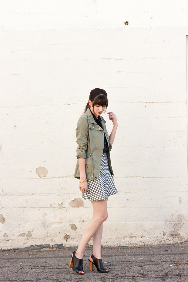 Outfit for Summer and Fall, Cargo Jacket