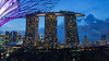 blue hour in Singapore by diwan
