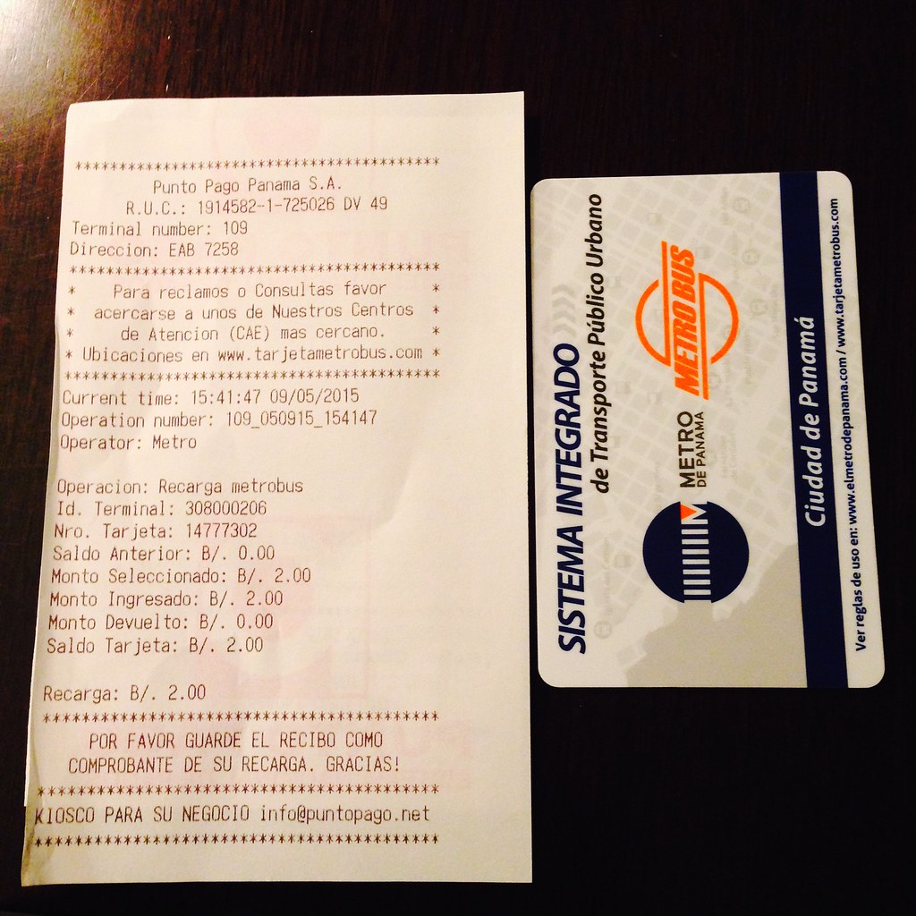 Metro card
