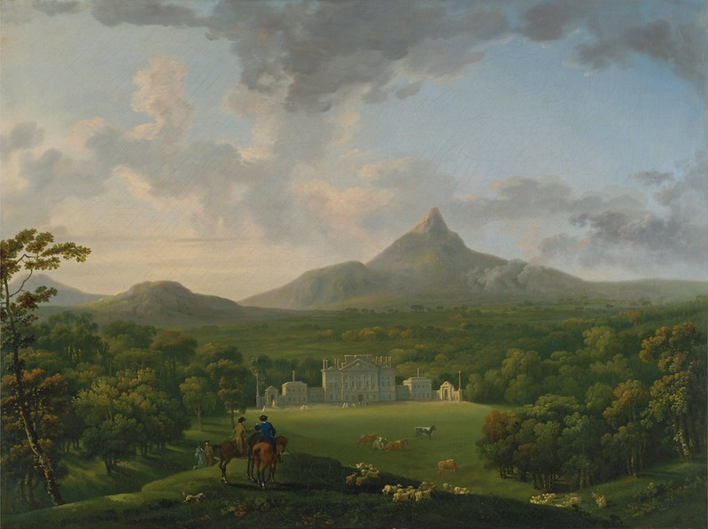 George Barret - Powerscourt, County Wicklow, Ireland (c.1760)