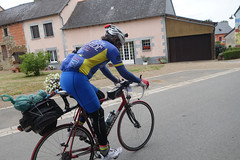 Luis, we rode together from Loudeac. - Photo of Illifaut