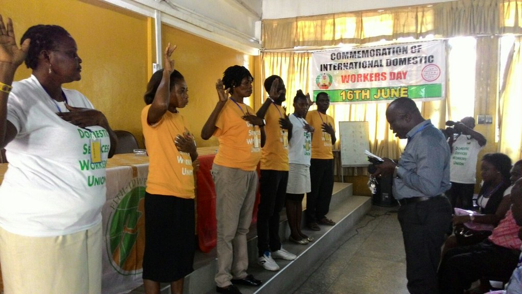 2015-9-23 Ghana: Domestic Services Workers' Union (DSWU) Founding Conference