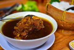 Oxtail Black Soup ( Rawon )
