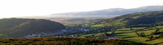 Evening shadows over Talybont by Sue Wolfe