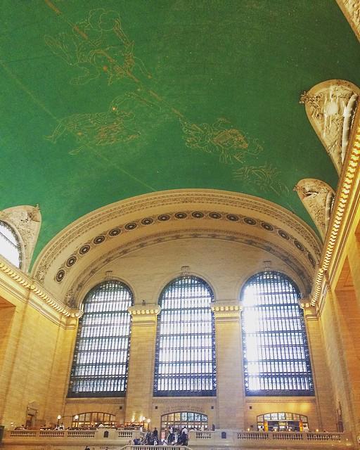 incredible ceiling at GCS