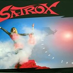 "SATROX Heaven Sent SWISS HEAVY METAL 12"" LP ALBUM VINYL"
