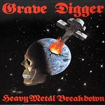 "Grave Digger Heavy Metal Breakdown 12"" vinyl LP"