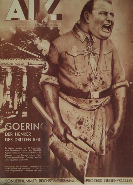 15j01 Goering Göring Verdugo III Reich Obra de John Heartfield