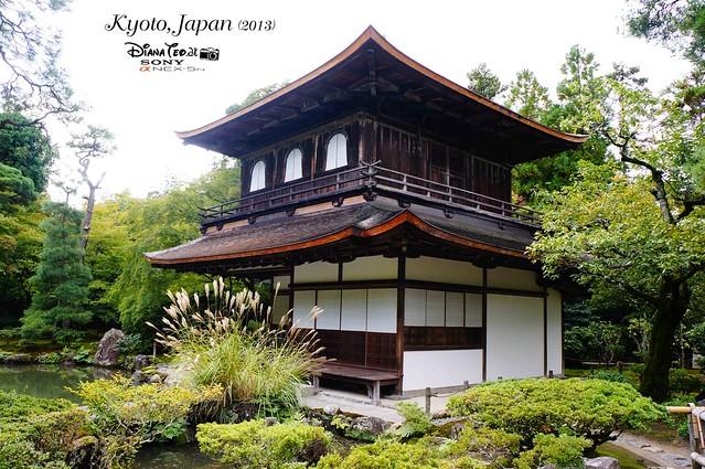 Kyoto - Ginkakuji (Silver Pavilion) 01