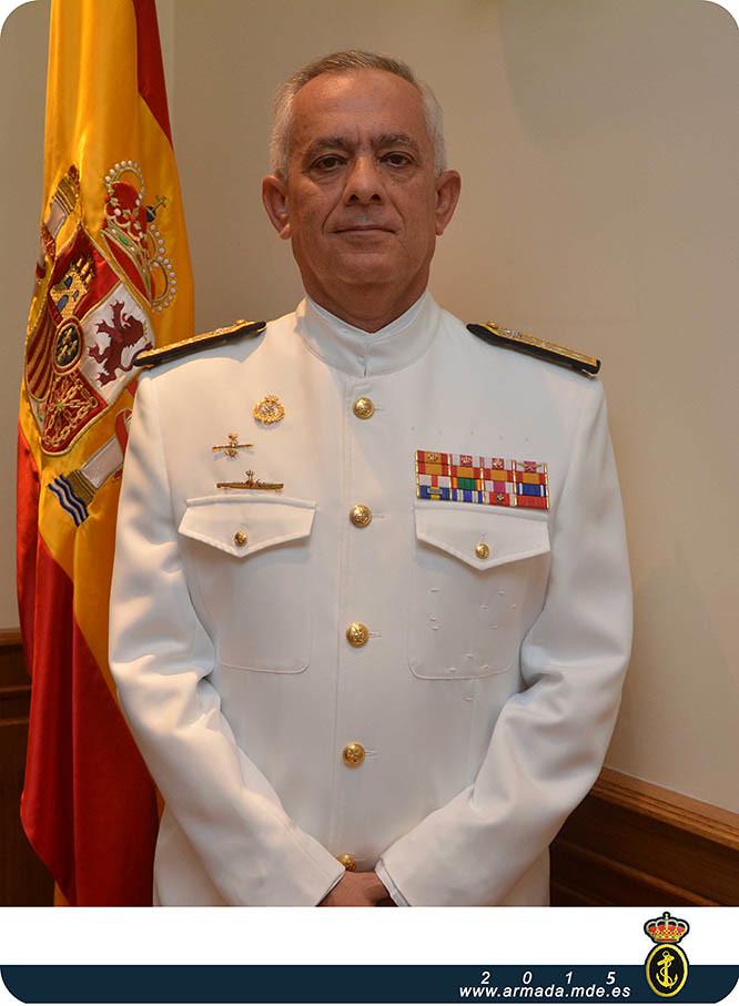 El vicealmirante Gamboa Pérez-Pardo, nuevo Almirante Jefe del Arsenal de Cartagena