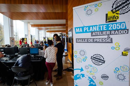 Opération #maplanète 2050 de France Info