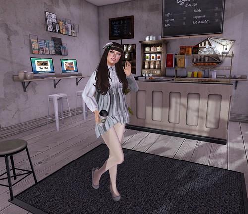 I need my coffee! - Lolita Oleander