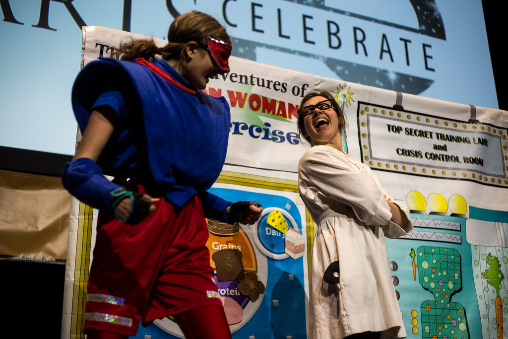 The Super Adventures of Nutrition Woman & Dr. Exercise @ Holland Stages | 10.17.15