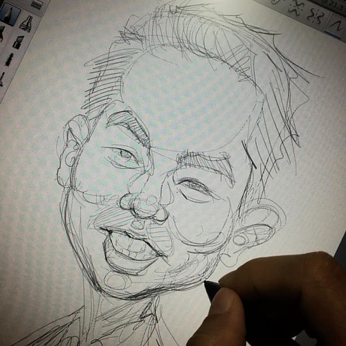 Quick sketch....