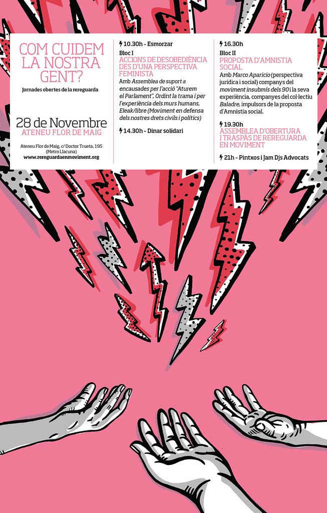 Jornades com cuidem la nostra gent, 28 de novembre de Rereguarda en moviment