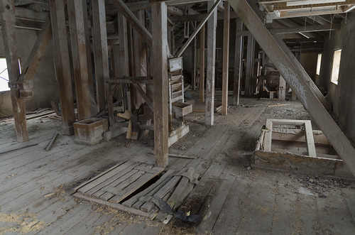 abandoned watermill ue ārciems