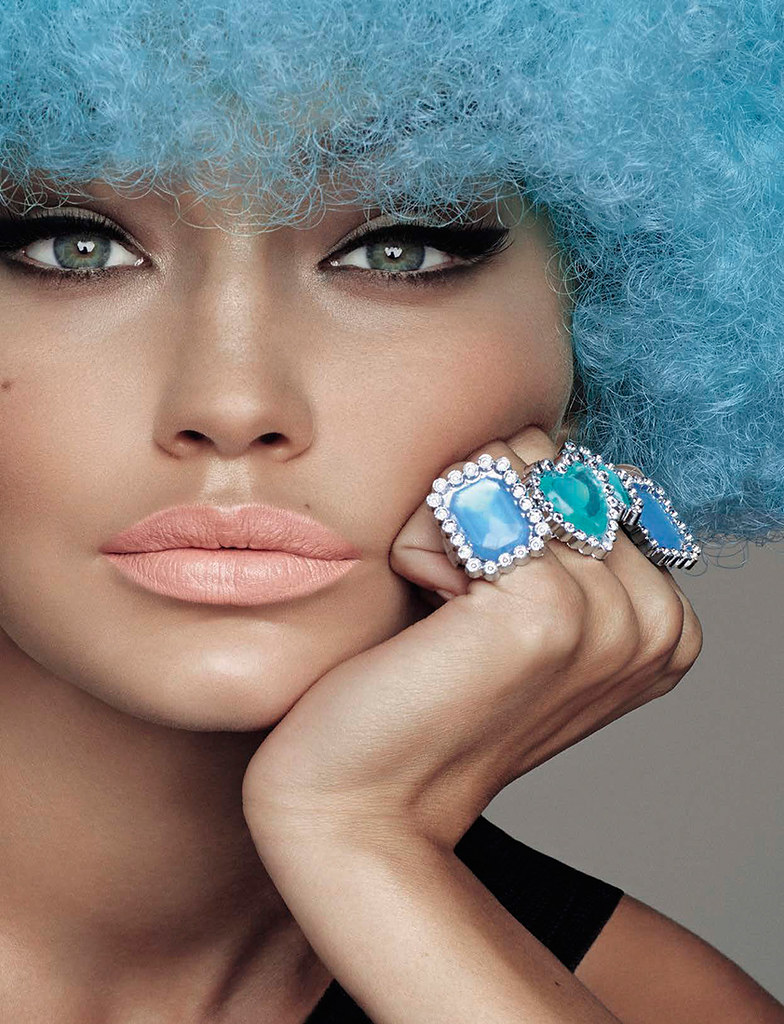 Джиджи Хадид — Фотосессия для «Vogue» IT 2015 – 14