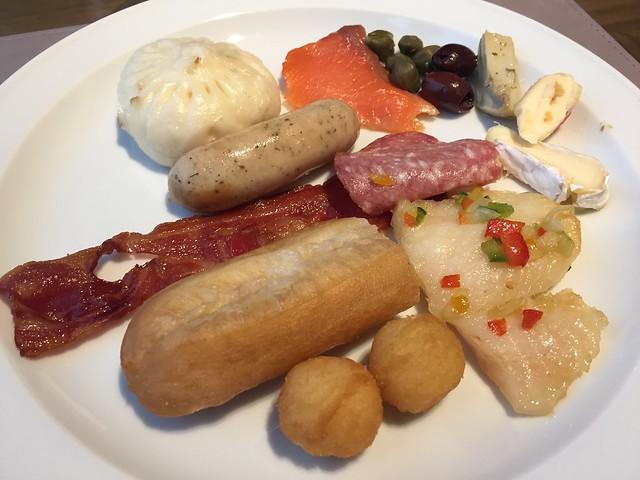 Breakfast plate #1 - Renaissance Beijing Wangfujing Hotel