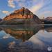 The Incredible Bow Lake by Dan Sherman