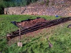 Hugelbed permaculture