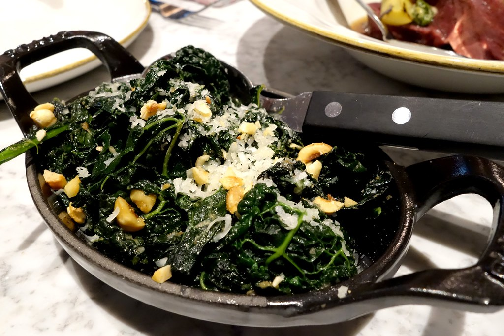 The Ninth: Cavolo nero, hazlenut pesto