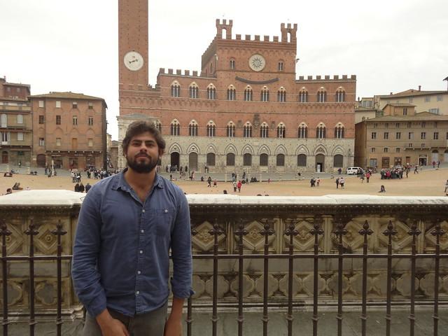 Me in Piazza del Campo
