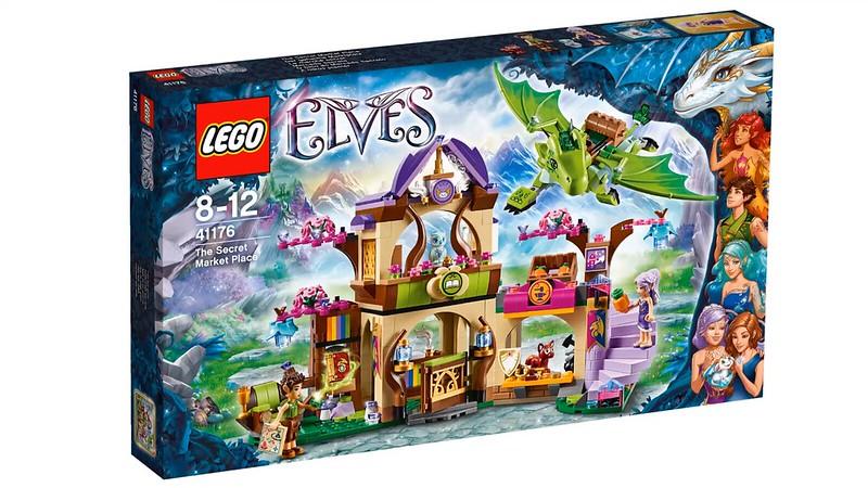LEGO Elves 2016   41176 - The Secret Market Place