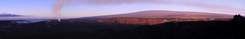 park sunrise hawaii national crater volcanoes halemaumau renedrivers rchan415