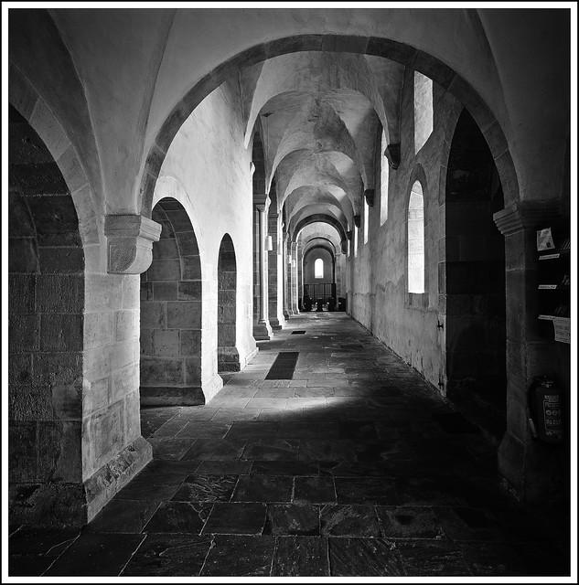 Klosterkirche   Wahlsburg - südliches Seitenschiff