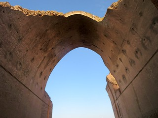 Image of Arch of Ctesiphon. arch ctesiphon baghdad iraq parthian