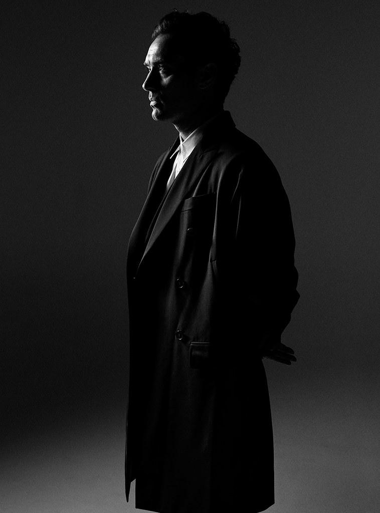 Джуд Лоу — Фотосессия для «L'Uomo Vogue» 2016 – 4