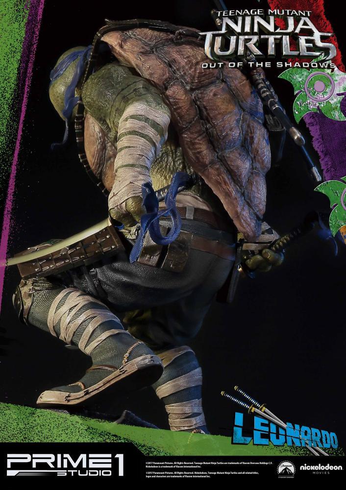 Prime 1 Studio 忍者龜:破影而出【李奧納多】TMNT: Out of the Shadows Leonardo 1/4 比例全身雕像