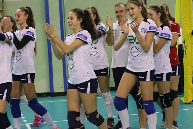 Campionato Fipav U16 Bianca 27 Novembre 2016 Polisportiva Bresso  - Pro Patria 0 - 3