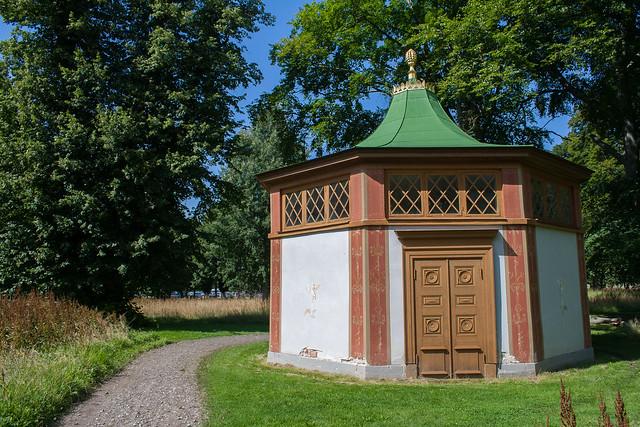 Drottningholm Palace swan house