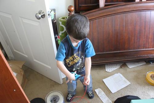 3D Printing - Sagan Preps Filament