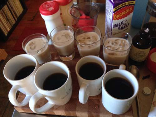 Cold Press Coffee Test 1