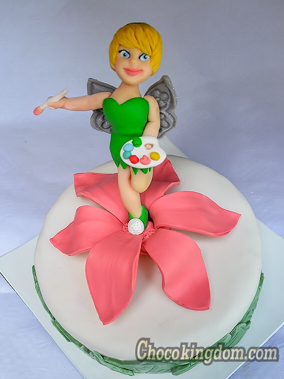 Tinkerbell Cake Topper Decoration