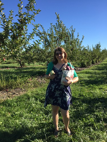 First round of apple picking of the season!