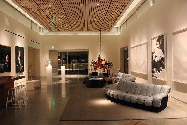 Lobby, 21c Hotel Museum, Bentonville AR