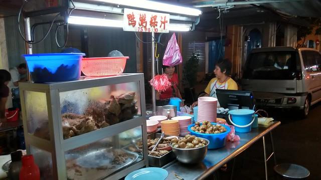 檳城汕頭街權記鴨粥粿汁