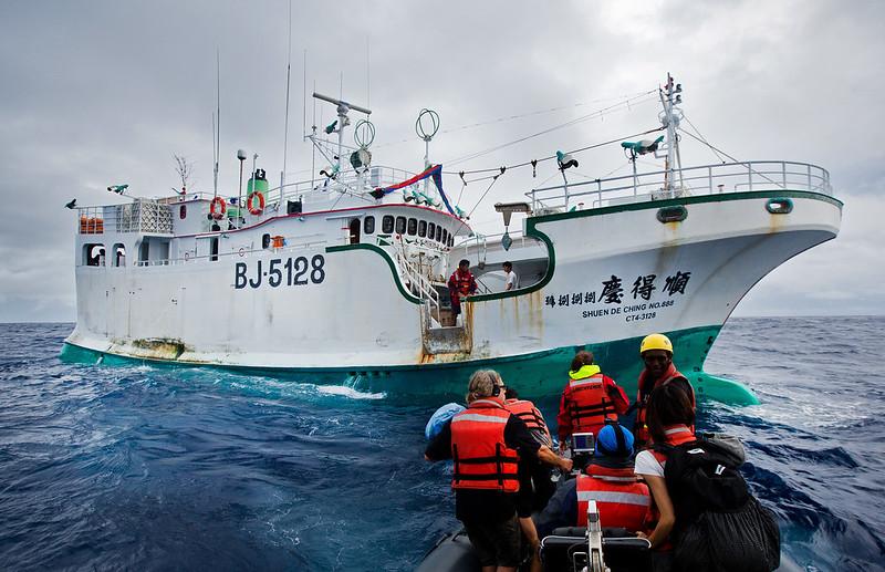 「順得慶888號」啟示錄:嚴懲非法或就地合法?(圖片來源:台灣綠色和平組織)