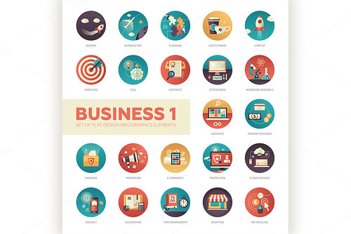 @Decorwithme : 22 #Business #Flatdesign #Icons Set http://t.co/bUBDJw8hOv #motivation #startup #design #digitalart #vector #digital http://t.co/E2GbgjQm2L
