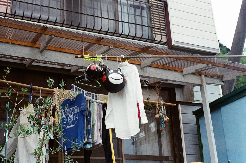 熊本熊 相島 Ainoshima, Fukuoka 2015/09/02 熊本熊的浮球。  Nikon FM2 / 50mm Kodak UltraMax ISO400 Photo by Toomore